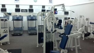 Hutchinson Island condo photo - Fitness facility with update shower room and sauna on site !