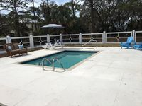 Nautical Blue with Private Pool, Game Room and Beach Gear!! 1/2 Block to Beach!!