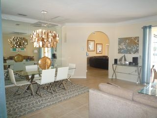 Modern formal dining - Naples house vacation rental photo