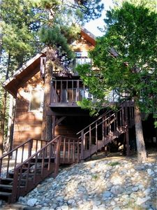 Traditional Tahoe cabin with all the modern conveniences