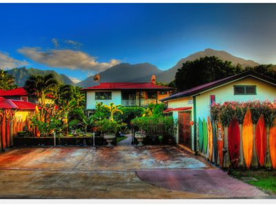 the hanalei surfboard house