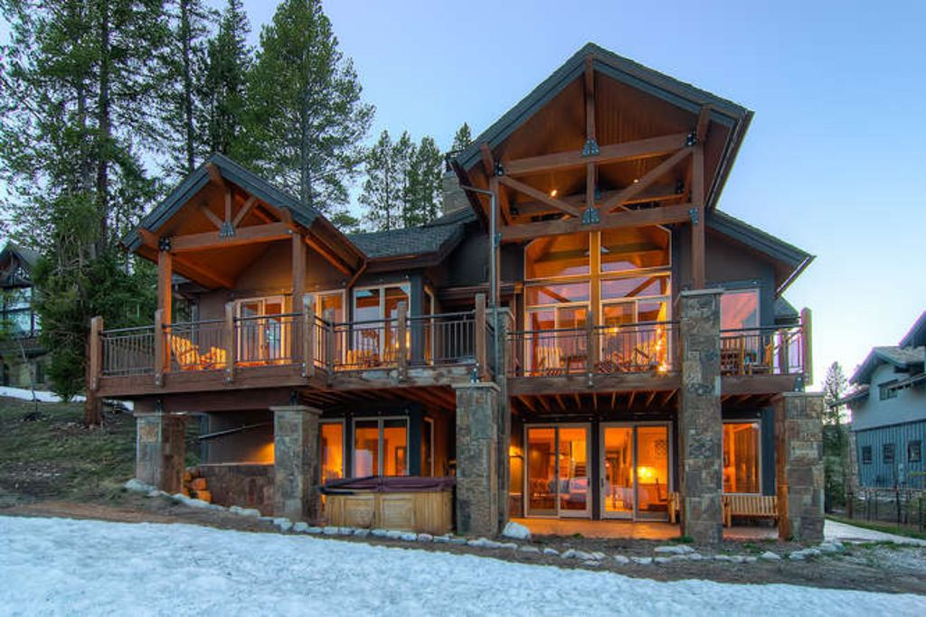 Lumber Jack Lodge True Slopeside Property Homeaway