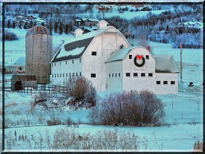 Local scenery: This Park City barn is frequently photographed.