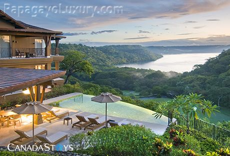 Peninsula papagayo ocean views papagayo homeaway for Luxury rental costa rica