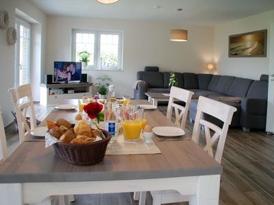 !Comfortable 5 star holiday apartment, direct view of the Baltic Sea NORTH CHANNEL! - Villa Kanalblick Untere FeWo