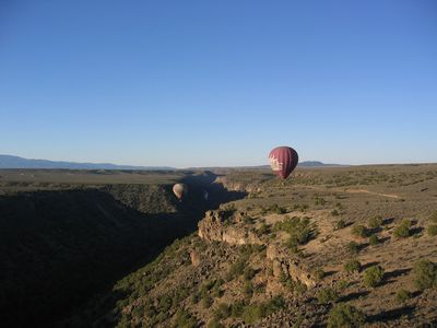 Take a Balloon ride into the Gorge!