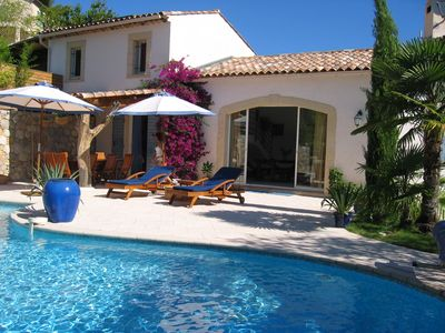 Charming Provencal villa with heated pool in the hinterland of Nice