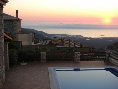 Luxury Villas with private pools just 5km from the most beautiful beach in Crete