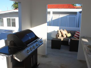 Vieques Island house photo - grill