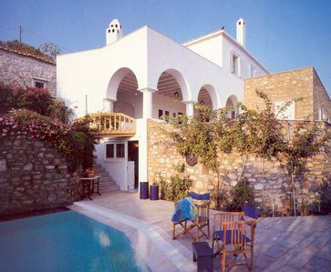 One of the most beautiful rental villas on Hydra