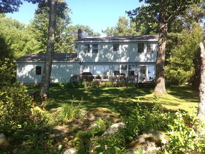 Spacious Year-Round Lakefront Family Home On Thomas Pond in South Casco, Maine
