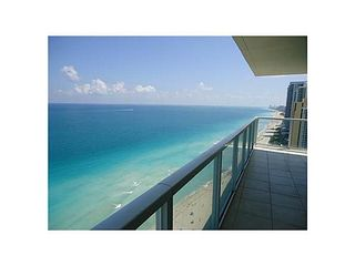 Sunny Isle condo photo - South Beach view from the balcony