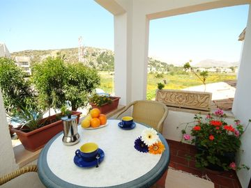 Terrace with beatiful views