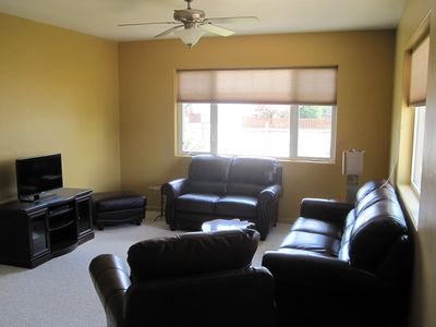 "Living Room - seating for 6 with 32"" TV & Blu-Ray disc play"