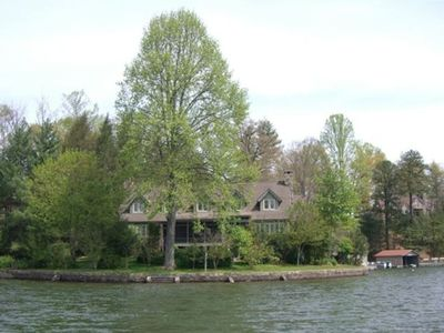 Flat Rock house rental - View from Lake Summit