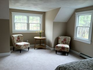 Truro house photo - The sitting area of the master.This large, airy room has a king bed.