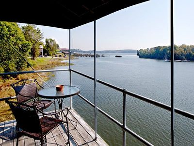 Private Balcony over water on Thomaston Harbor