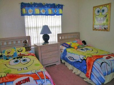 Indian Ridge villa rental - Sponge Bob Twin, a child's delight!!