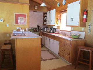 Idyllwild cabin photo - A well equipped kitchen