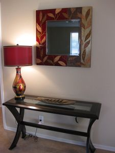 Entry with Console Table and Mirror