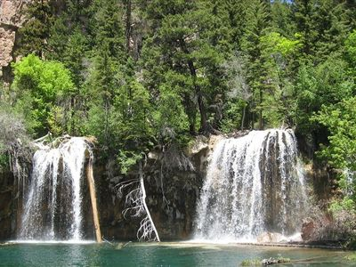 This is our favorite Hike. 'Hanging Lake'