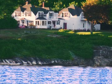 View of Cottage from a Boat