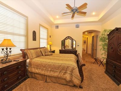 1200 sq. ft. Master Bedroom Wing with adjoing Sitting Room
