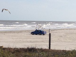 North Padre Island condo photo - Can drive on beach 4 wheel drive recommended but not needed , permits required .