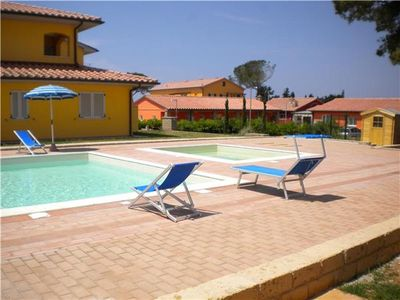 Popular apartment for 6 people, with swimming pool, in Maremma