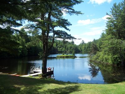 Mountain Retreat on Private Lake 'Alderbrook Lodge' - Special Rate for August!