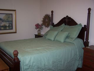 Gulf Shores house photo - A guest bedroom with a double bed!