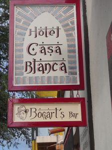 Welcome to the Hotel Casa Blanca and Bogart's Bar