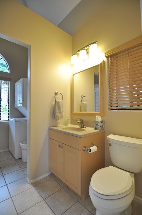 Second Bathroom with laundry