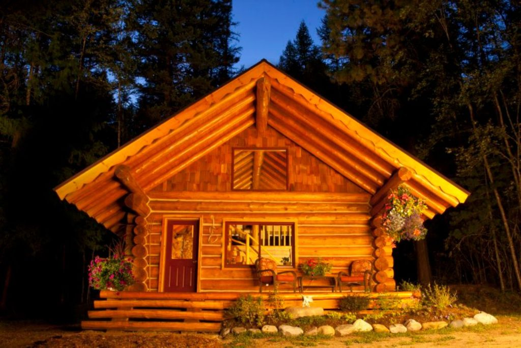 Gorgeous Hand Crafted Log Cabin In Idaho Vrbo
