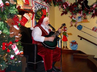 The Real Santa is at  The Christmas Place in nearby Pigeon Forge