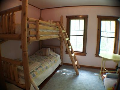 Kids can enjoy great bunk beds :)