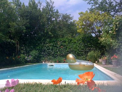 CONDITIONED HOUSE WITH POOL IN AIX EN PROVENCE