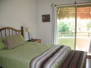 Tulum condo photo - Large bedrooms, each with private bathroom and shower. Fully screened.