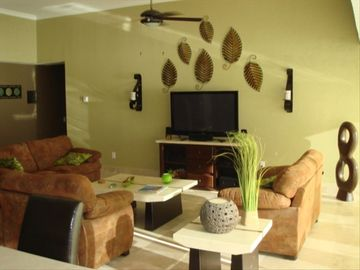 "Living Room / 50"" plasma w/dvd and sound system"