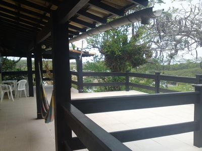 Huge Beach House With Terrace And Bela Vista, condominium From Inside Closed
