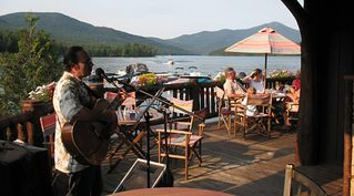 Lake Placid condo photo - Moose Lodge Restaurant at Boathouse