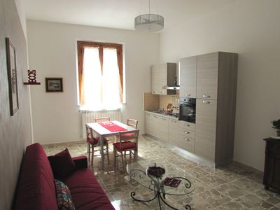 Brand new apartment in the old town of San Miniato