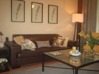 Sunny Isle condo photo - Living Room with Queen Sized SofaBed