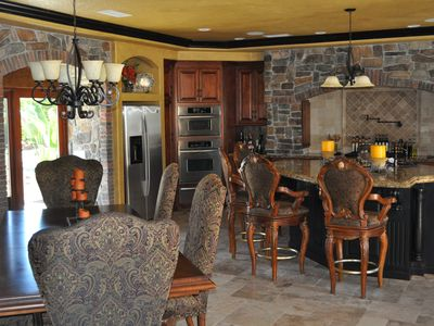 Huge Kitchen with attached Dining, seats 12