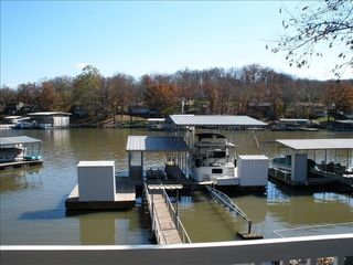 Osage Beach house photo - Fabulous! Dock with bar swim platform and plenty of room for your yacht!