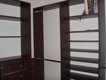Closet in Master Bedroom