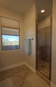 Cave Creek condo rental - Both masters have walk in showers with custom tile work.