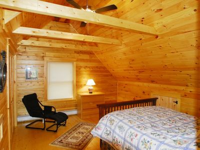 Lake Winnisquam cabin rental - Master suite