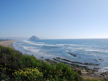Morro Bay house rental - Beach is an 8 minute walk from the house.