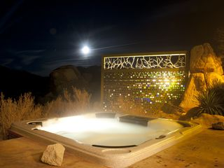 Joshua Tree house photo - Have a soak in our jacuzzi